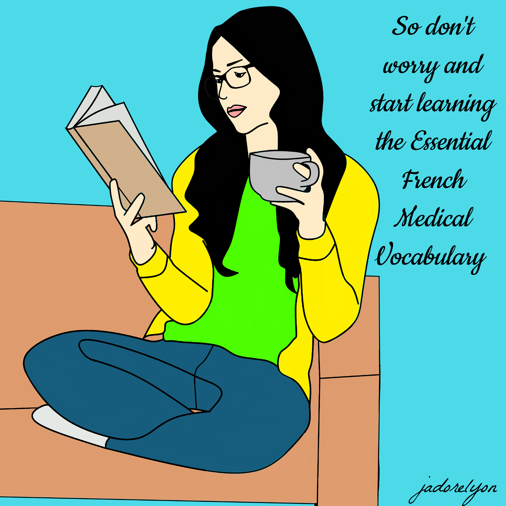 So don't worry and start learning the Essential French Medical Vocabulary