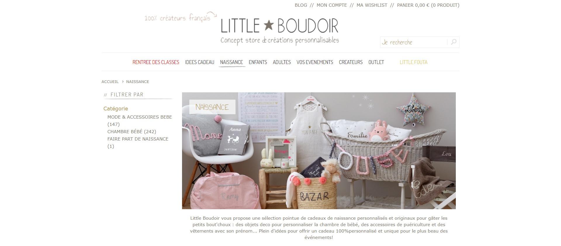 Cadeau Naissance Personnalisé - Boutique en Ligne