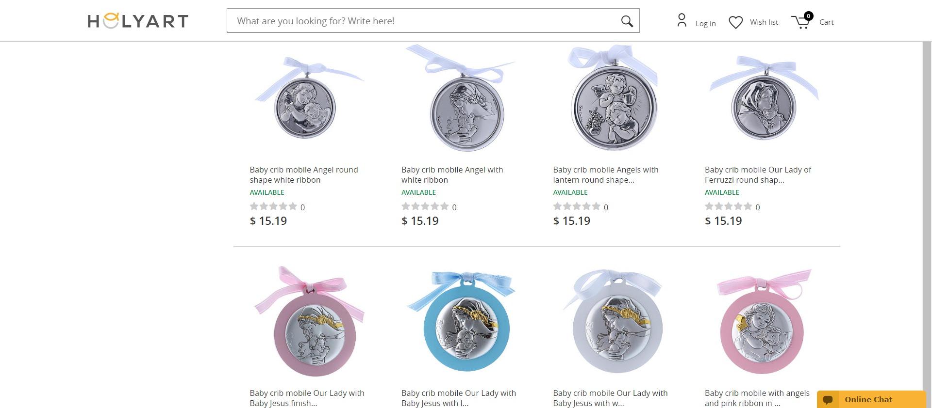 FireShot Capture 103 - Medals and decoratins for cradle - online sales on HOLYART.com_ - www.holyart.com