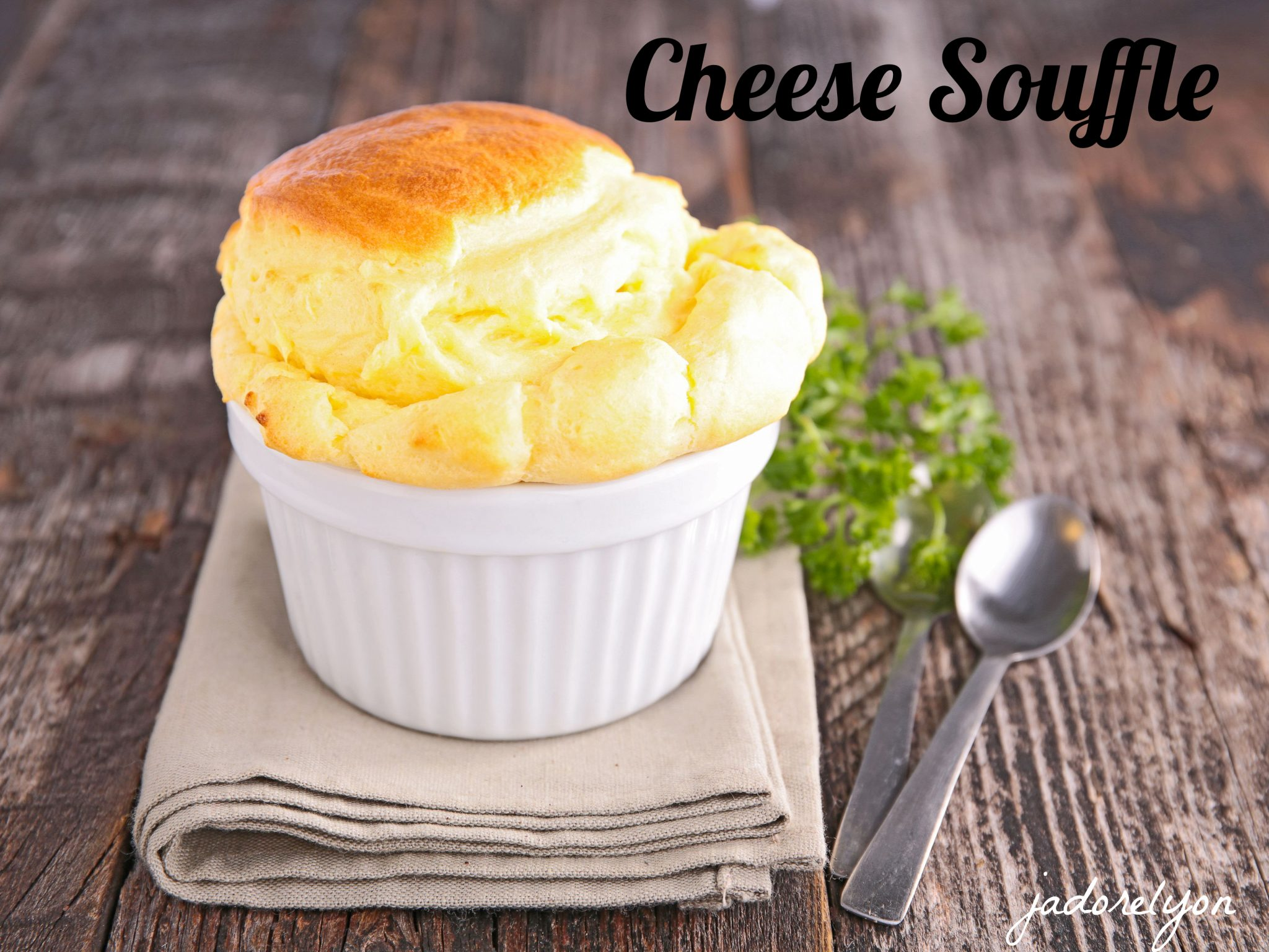 Cheese Souffle.