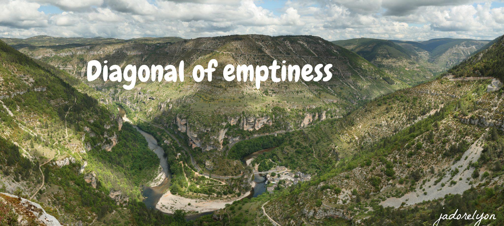 Diagonal Emptiness jadorelyon