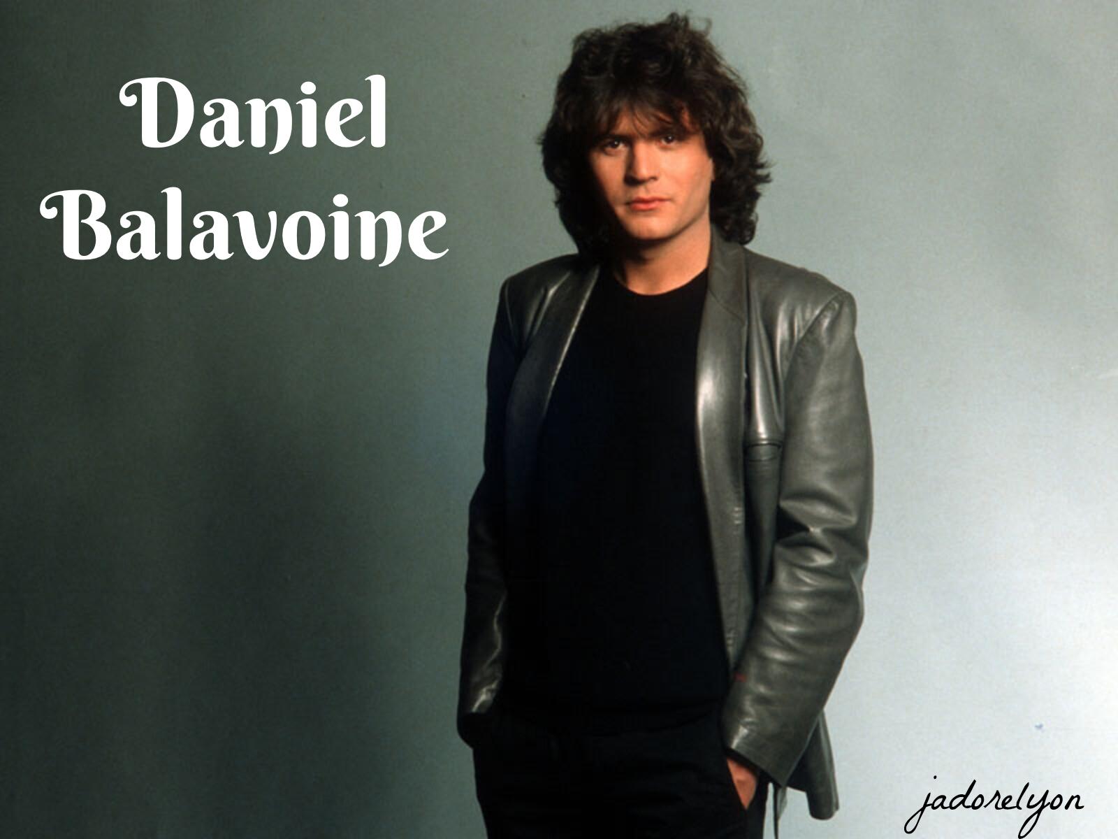 Daniel Balavoine.