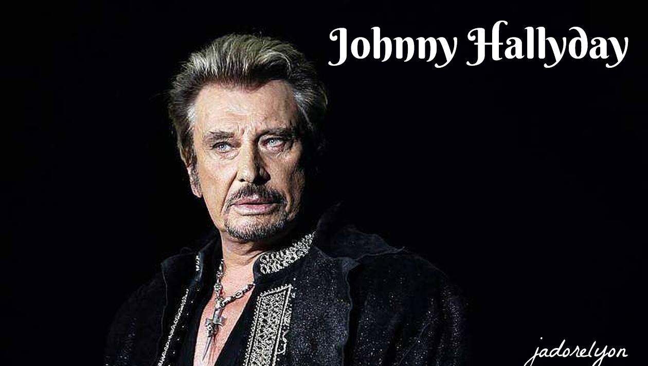 Johnny Hallyday.